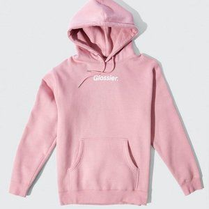 NEW Glossier Limited Edition Glossiwear Hoodie XS